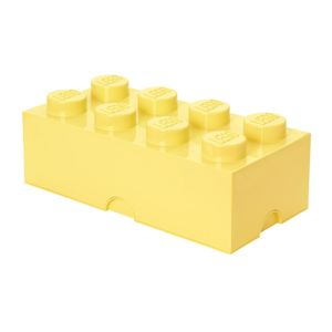 Krabica s vekom Lego Rectangular Extra Light Yellow