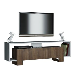 TV komoda Mery Walnut