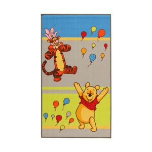 Koberec Winnie and Friends Balloons 80x140 cm