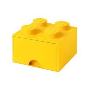 Skladovacia krabica Lego Square One Yellow
