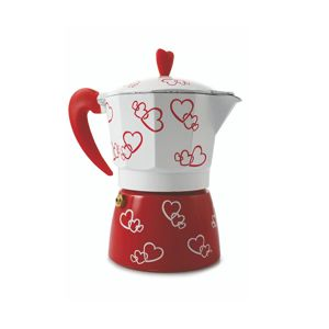 Moka kávovar Red Hearts
