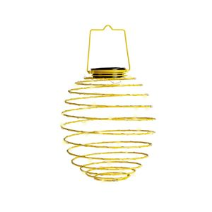 Solárna lampa Spiral Yellow