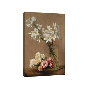 Obraz Lilies and Roses 50x70 cm